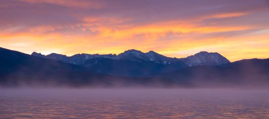 Sunrise over Grand Lake, Colorado