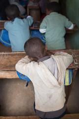 élève à l'école Madagascar
