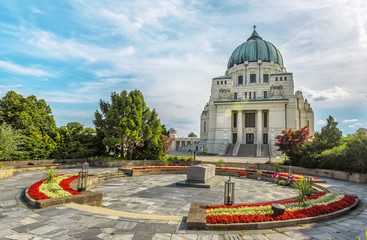Central Cemetery, Charles Borromeo Church, Vienna.