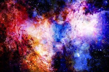 beautiful multicolor abstract background structure with space features.