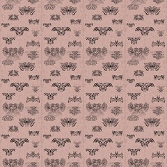 Pink abstract seamless pattern. Grunge style. Background or texture.