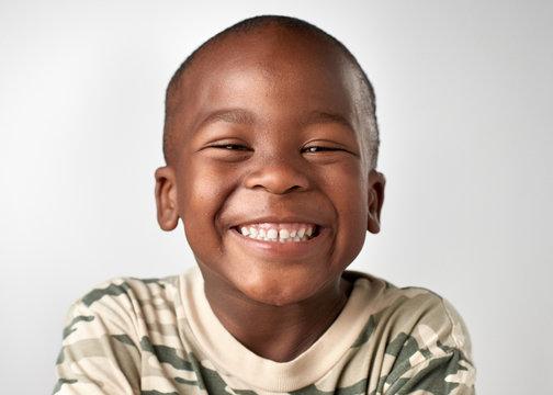 happy smiling child