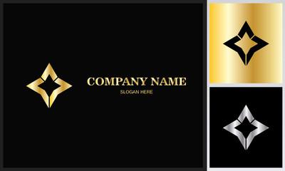 triangle star gold logo