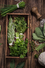 aromatic herbs for healthy cooking