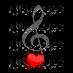 Music and love