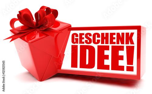 geschenkidee button icon stockfotos und lizenzfreie bilder auf bild 125821365. Black Bedroom Furniture Sets. Home Design Ideas