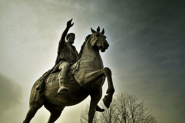 Fototapeta Marc Aurel Denkmal Tulln obraz