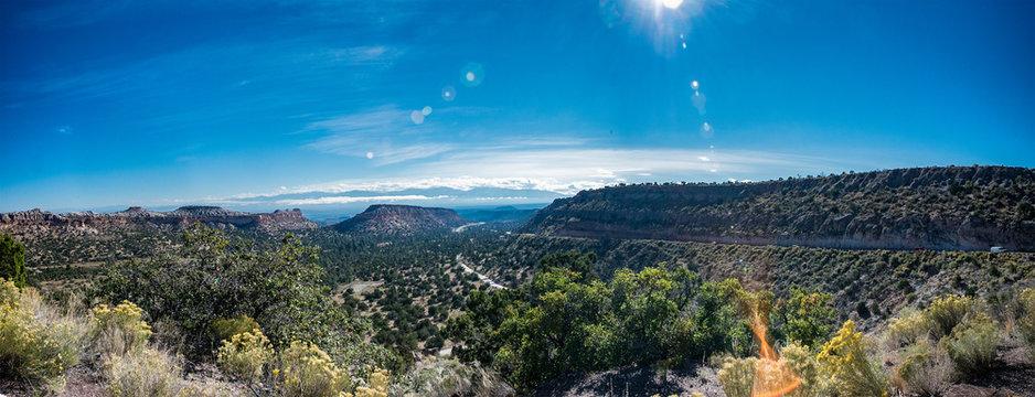 From Los Alamos looking toward the Rio Grande Valley