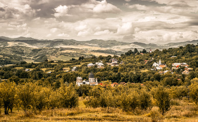 The village. -Valea Plopului- village, Prahova county, Romania
