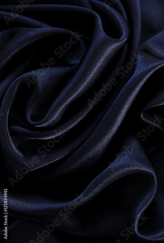 smooth elegant black silk - photo #12