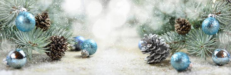 Winter - Weihnachten - Panorama