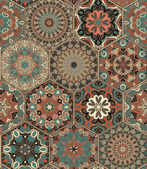 Tile Set Hexagon Weave