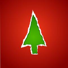christmas tree torn