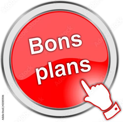"""""""bouton Bons Plans"""" Fichier Vectoriel Libre De Droits Sur"""