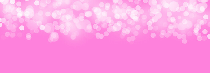 Abstract Background Defocused Spots Light Colors White Pink Boke