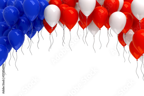 Red white and blue balloons background stock photo and for Red white and blue wallpaper