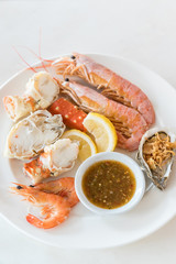 cold seafood set
