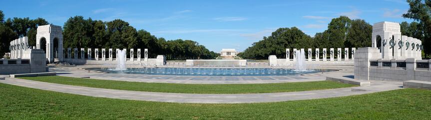 The National World War II Memorial in Washington D.C.