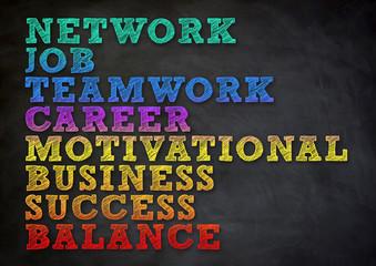 network job teamwork