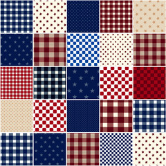 American Patchwork Quilt Design
