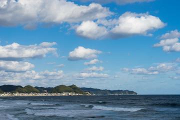 外房の海岸線の景色