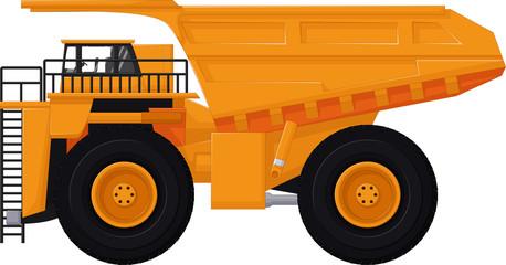 dump truck cartoon for you design