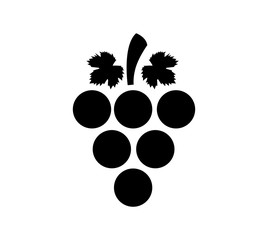 Bunch of Grapes Icon Design