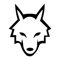 animal wolf fox logo