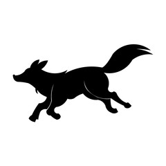 animal wolf fox logo