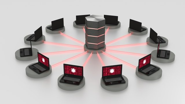 Denial of service attack on centralized server