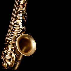 Saxophone jazz music instruments alto sax
