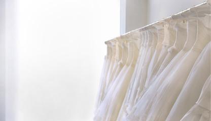 ドレスのある部屋