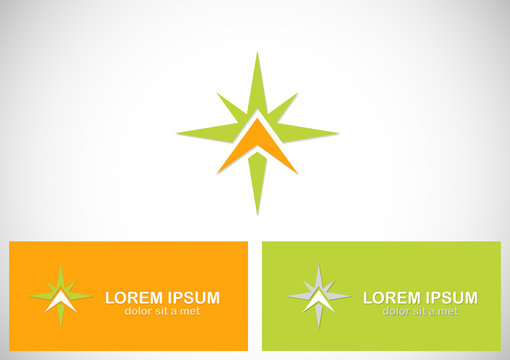 arrow star navigation logo