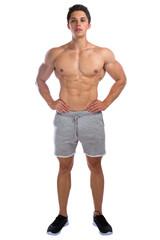 Bodybuilder Bodybuilding Muskeln Body Building Mann Ganzkörper