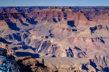 Gran Canyon taken from mother point on south rim