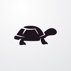 turtle icon illustration