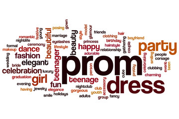 Prom word cloud
