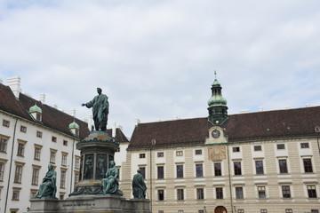 Wien, Hofburg, Wiener Hofburg, Spätmittelalter, Denkmal, Kaiser Franz I. Denkmal, Amtssitz