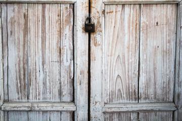 Wooden door,vintage