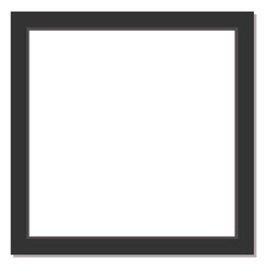 black square picture frame for photographs