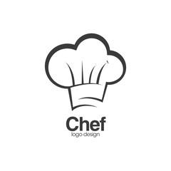 Chef Hat Creative Concept Logo Design Template