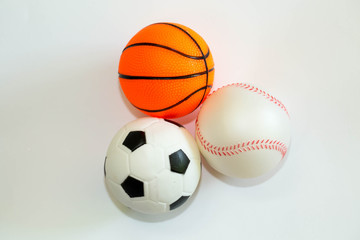 Tennis ball,football,basketball