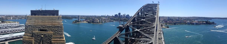 Harbour Bridge, Sydney, Australie
