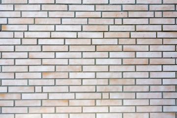 weiße Zieglstein Wand Hintergrund