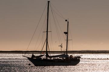 recreational sailing ship