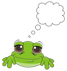 muzzle, face, call out, footnote, clean, think, animal, cartoon, toad, frog, toy, amphibian, reptile, croak, ribbit, happy, smiling