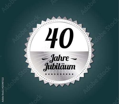 40 Jahre Jubilaum Modern Stockfotos Und Lizenzfreie Vektoren Auf