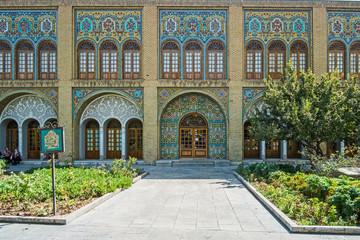Der Iran - Tehera   Golestan Palast