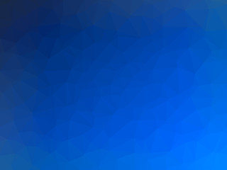 Dark blue gradient abstract polygon shaped background
