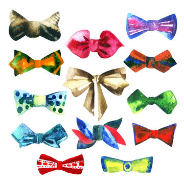 Fashion set with bow tie